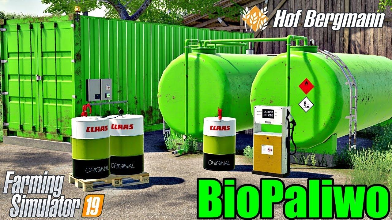 Produkcja BioPaliwa. - Hof Bergmann ☆ Farming Simulator19 ☆  #116 ㋡ Anton