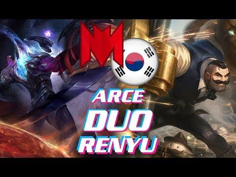INF Renyu Varus vs Kai'Sa | Duo Arce Braum SolidSnake Camille | Ranked KR