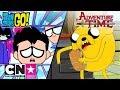 Download Haideți, tineri titani! + Să-nceapă aventura | Hoții de sandviciuri | Cartoon Network