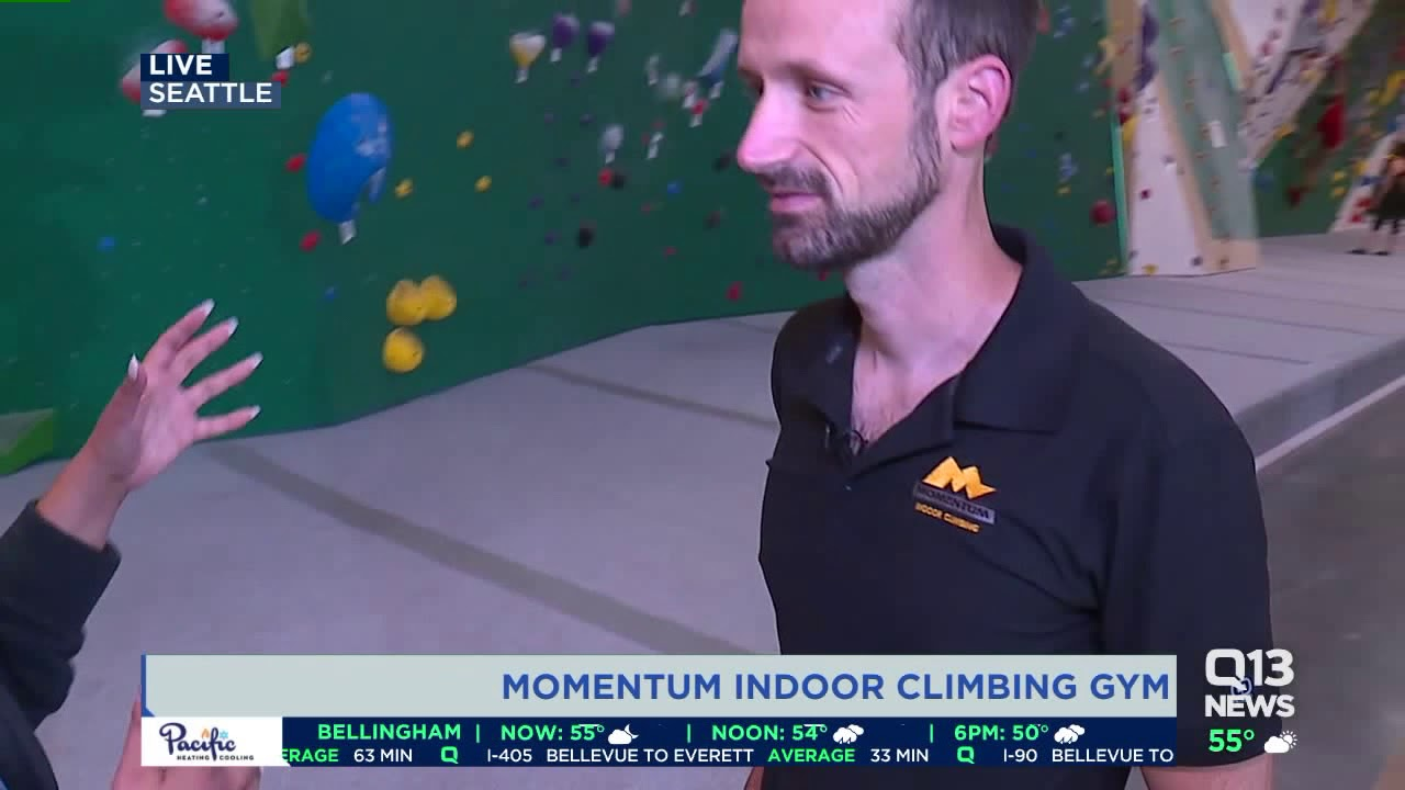 Indoor climbing gym