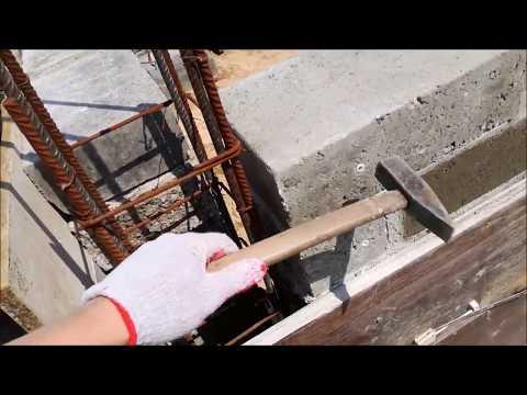 #41. Jak zalewałem trzpienie w ścianach fundamentowych - Buduję sam - Dom pod tulipanowcem