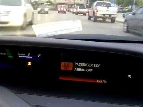 Toyota Sienna Anti Theft Flashing Light