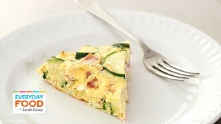Ham, Zucchini And Gruyere Frittata Recipe - Everyday Food With Sarah Carey