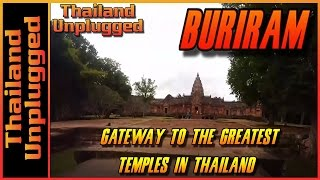 Buri Ram Gateway to the best Khmer temple complex  in Thailand, Vlog 063