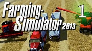 Farming Simulator Console Version - Let's Play Part 1 - Westbridge Hills