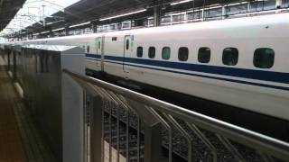 JR京都駅 東海道新幹線東京方面 やはり他の駅と違う!乗降終了合図の様子