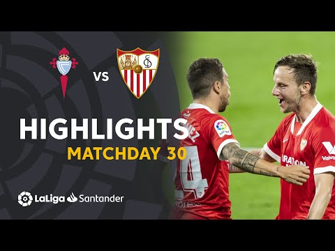 Celta Vigo Sevilla Goals And Highlights