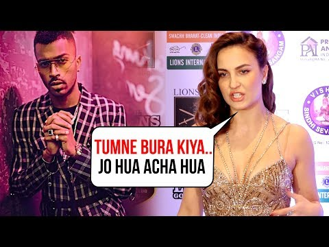 Ex Lover Elli Avaram SLAMS Hardik Pandya For Koffee With Karan Statements