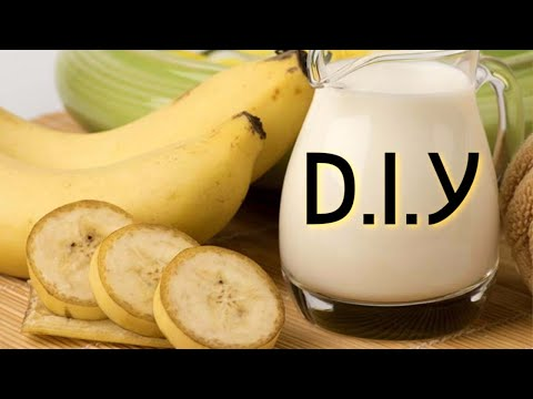 diy-banana-milk-hair-mask-|-protein-treatment