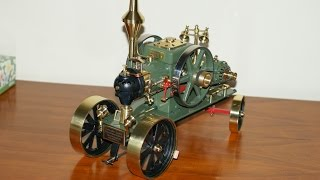 Lanz Bulldog stationary engine with generator (Flame eater)