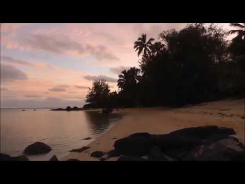 Things To Do In Rarotonga: Moon Rise Over Muri Lagoon