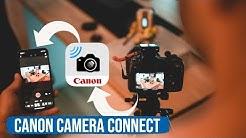 Canon EOS R - Bluetooth und WiFi Verbindung einrichten