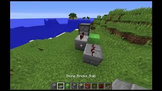 Minecraft Tutoriaalit #5   Miten tehdä limapalikka TNT tykki?