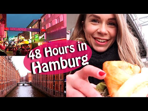 Hamburg Travel Vlog  - Speicherstadt, Reeperbahn & more