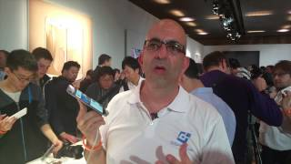 Samsung announcements @ MWC 2015 by GSM Israel - Samsung Galaxy S6 Edge