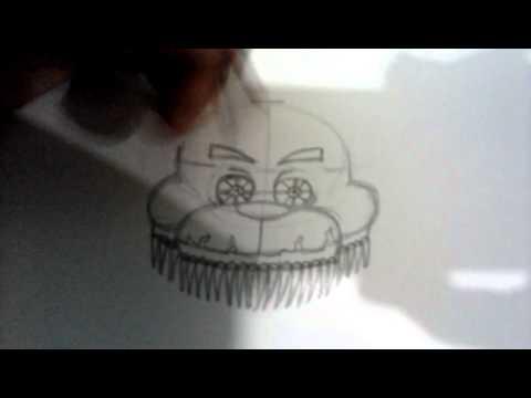 Drawing Nightmare Freddy