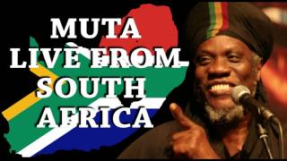 Muta live from South Africa