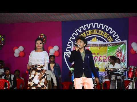 Mantu chhuria Desi pila song live orchestra Sundargarh engineering college 2018