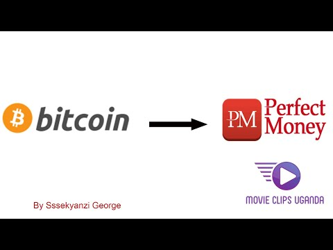 HOW TO CONVERT BITCOINS INTO PERFECT MONEY USD #BTC #PM #USD