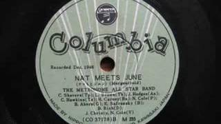 1946 The Metronome All Star Band(1) - Nat meets June