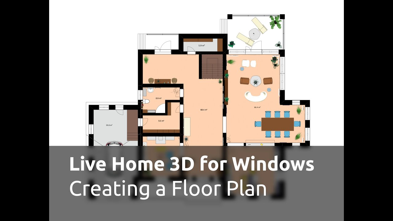 Live Home 3D For Windows Tutorials   Creating A Floor Plan