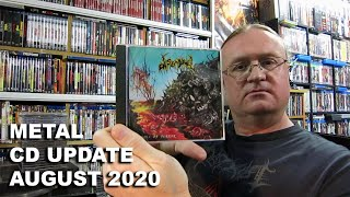 METAL CD Collection Update - August 2020 (Black / Death / Thrash)