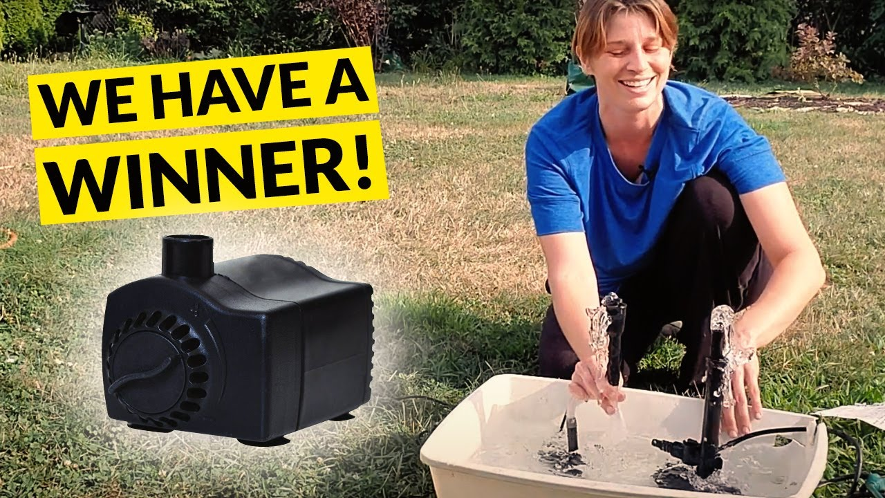 Fountain Pump Specs Demystified How, Outdoor Water Fountain Pump Replacement