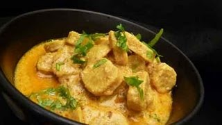 Gatte Ki Subzi (Sabji) Curry (Gatte Ki Sabji Recipe Video) Indian Recipe