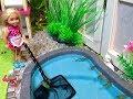 POOL!  Chelsea Floods the Bathroom!!! 🚽
