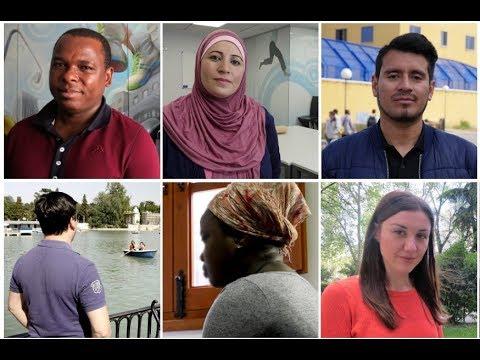 La labor de CEAR contada por los refugiados