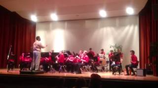 BJHS Band concert May 2013 - Drum Schtick