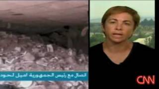 Great rebuttal by CNN anchor against a Israel Spokeswomen