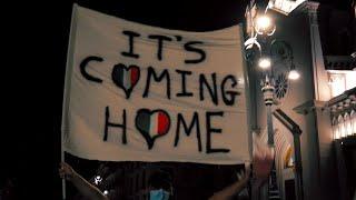 """Euro2020, Avellino festeggia l'Italia campione """"It's coming home"""""""