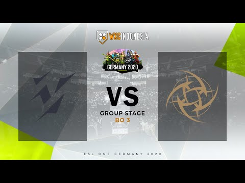 ESL ONE GERMANY 2020 - Natus Vincere vs Yellow Submarines Group Stage Day 12 | Ijulwxc