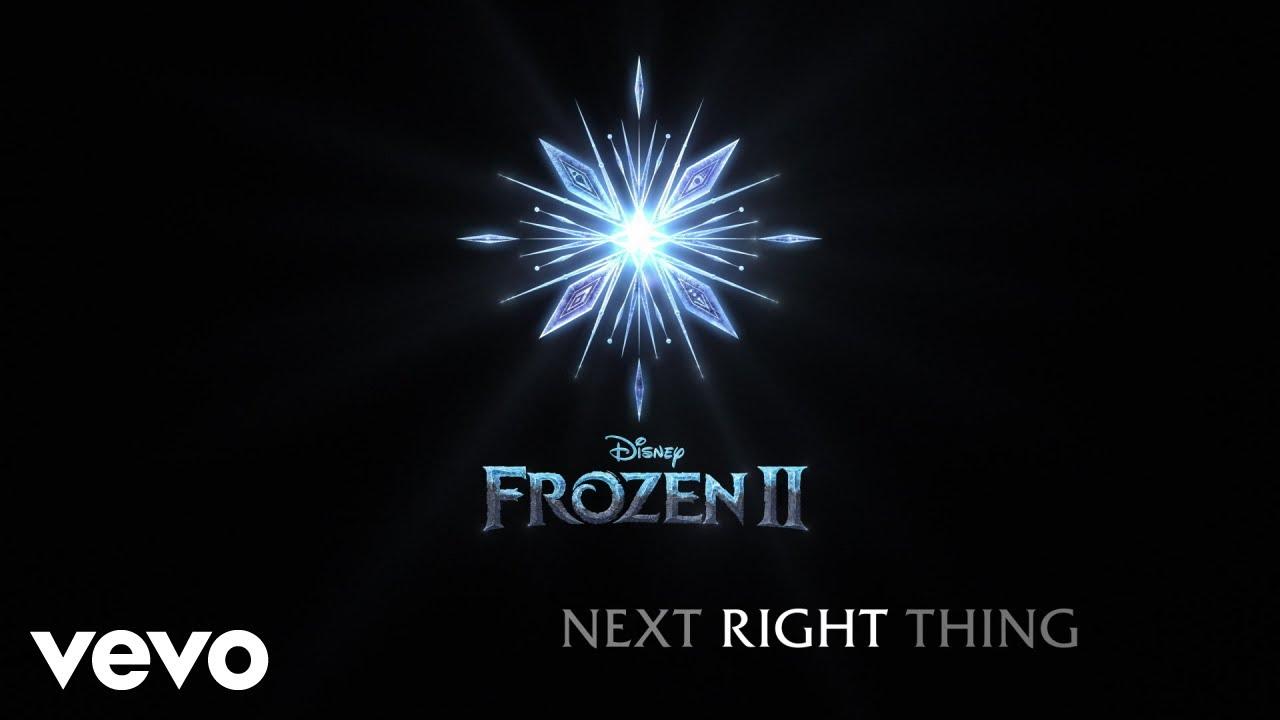 The Next Right Thing Tekst Polskie Tłumaczenie Frozen 2