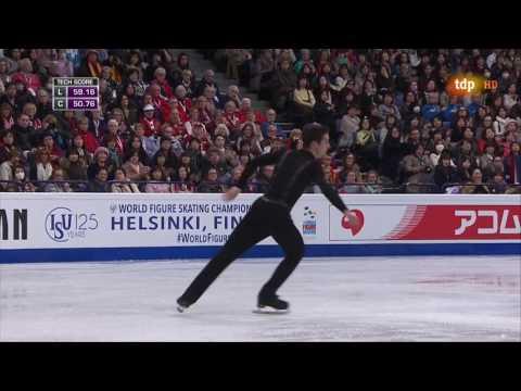 Javier Fernandez SP Worlds 2017 Helsinki
