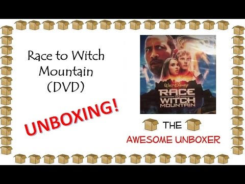 Download Race to Witch Mountain (DVD) unboxing!