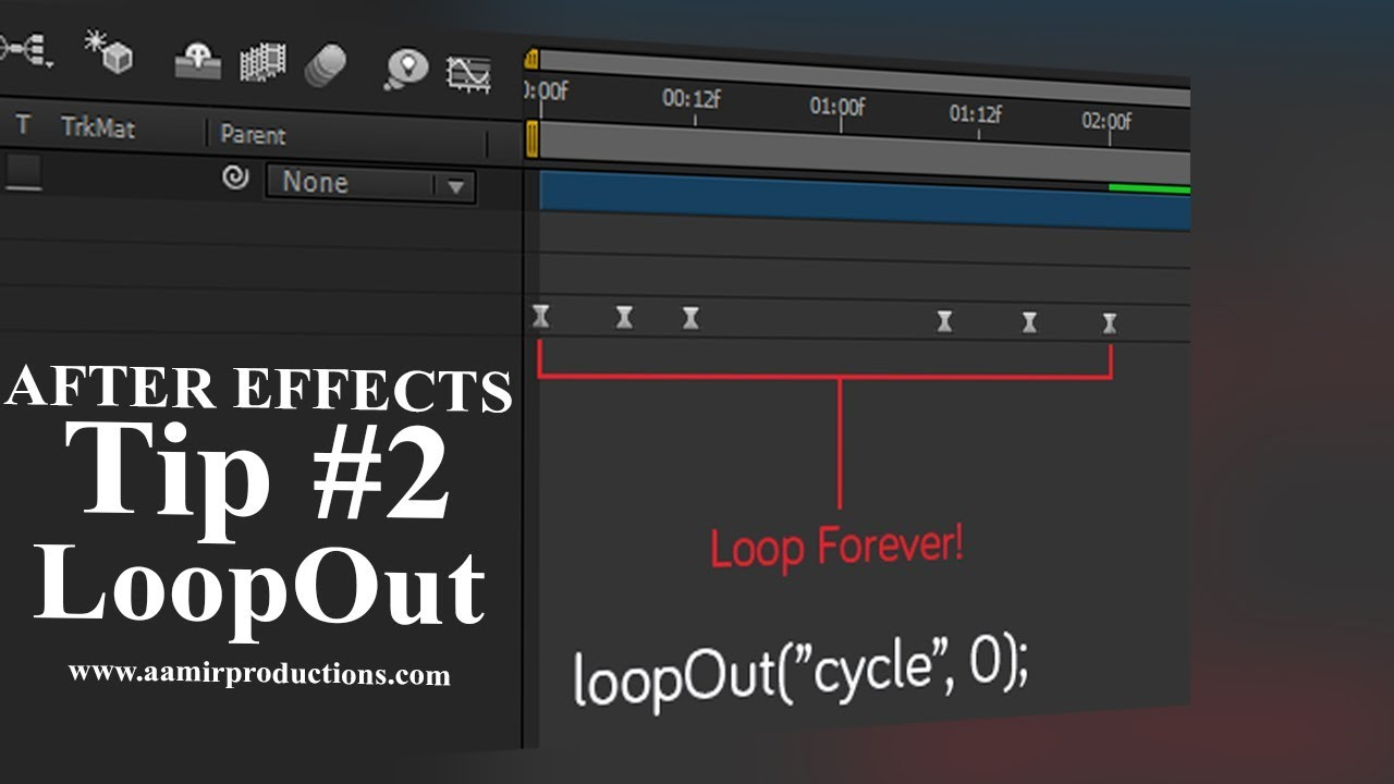 After Effects Tip 2 Loopout Animation Youtube