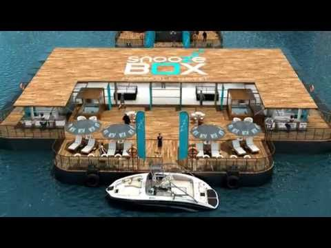 SnoozeBox Floating Hotel