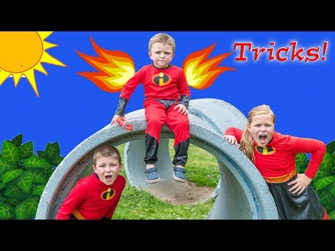Incredibles 2 Baby Jack Jack Plays Tricks on The Assistant and Officer Ryan Batboy