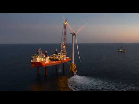 America's first offshore wind farm to begin production within days