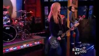 Avril Lavigne - My Happy Ending Live On Good Morning America