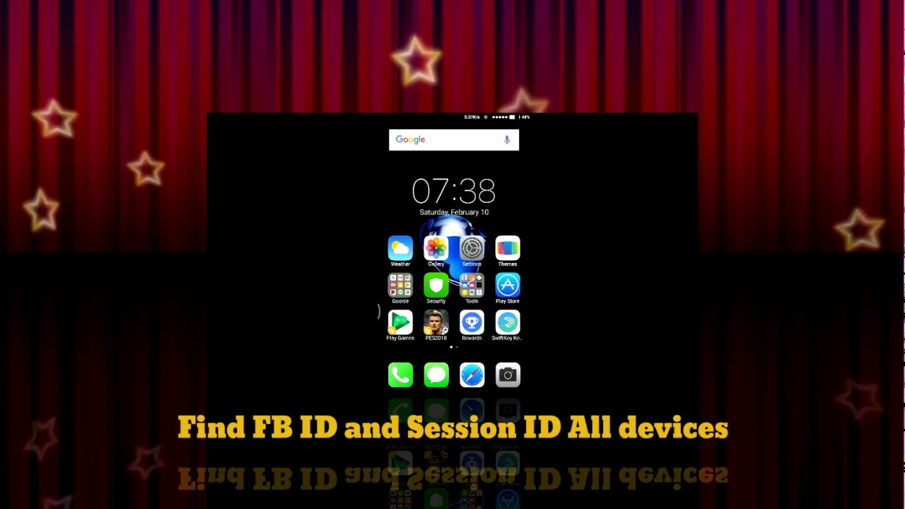 Find FB id and Session id Android/IOS 2018 New method