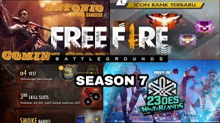 Update Terbaru Season 7 Garena FREE FIRE