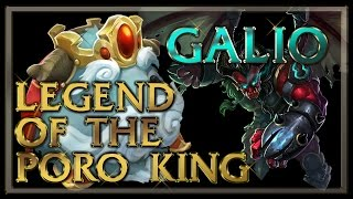 Legend of the Poro King Galio Gameplay - League of Legends