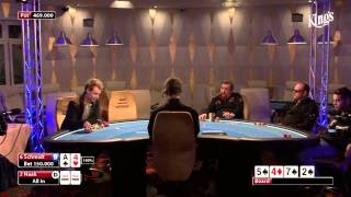 Final Table tristar Masters Vol 2 im Kings Casino 31. Januar 2014