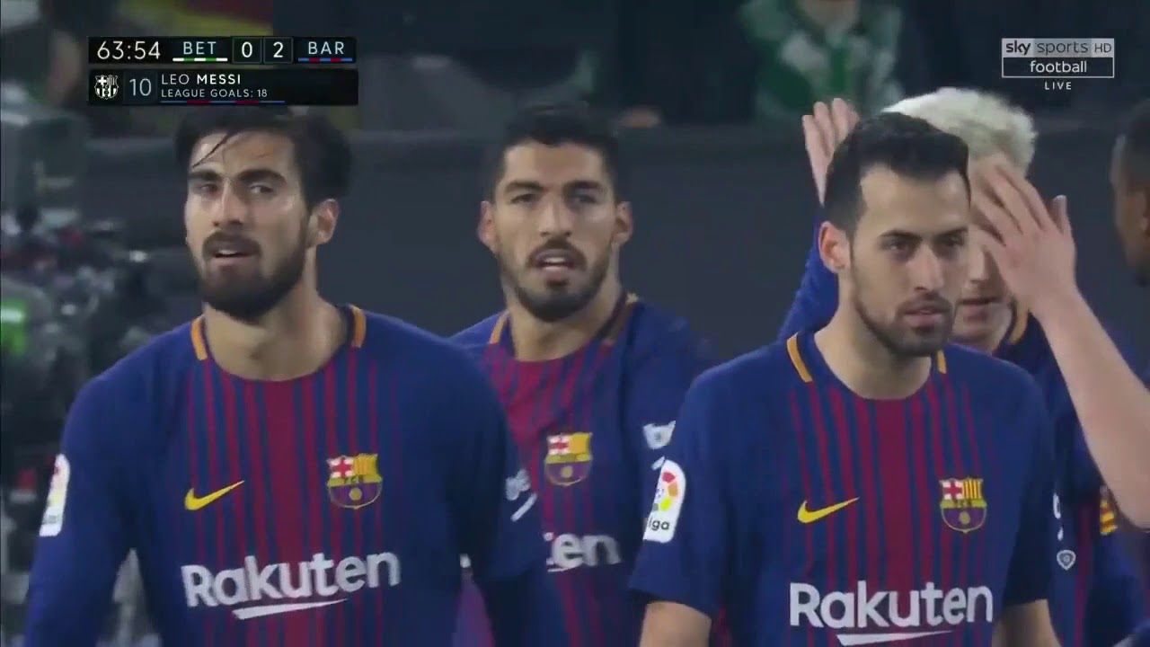 Download Real Betis vs Barcelona 0-5 - All Goals & Extended Highlights - La Liga 21/01/2018 HD