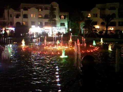 Port el Kantaoui, musical fountain