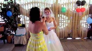 Песня от сестры невесты на свадьбе 2018 Запорожье тамада ведущая Мария