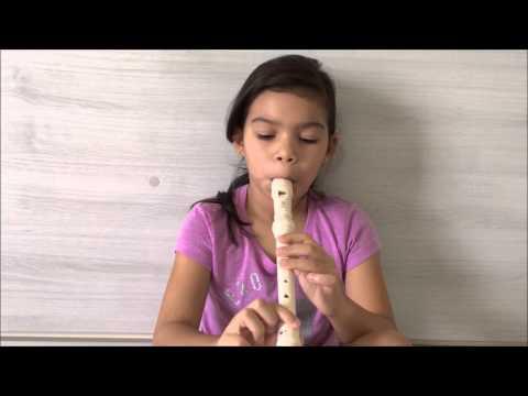 #Tocando Aquarela (Toquinho) Na Flauta Barroca.